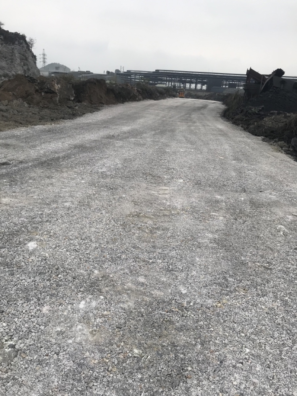 NHQ COMPLETED THE IMPROVEMENT OF THE ROAD ACROSS THE COMPANY