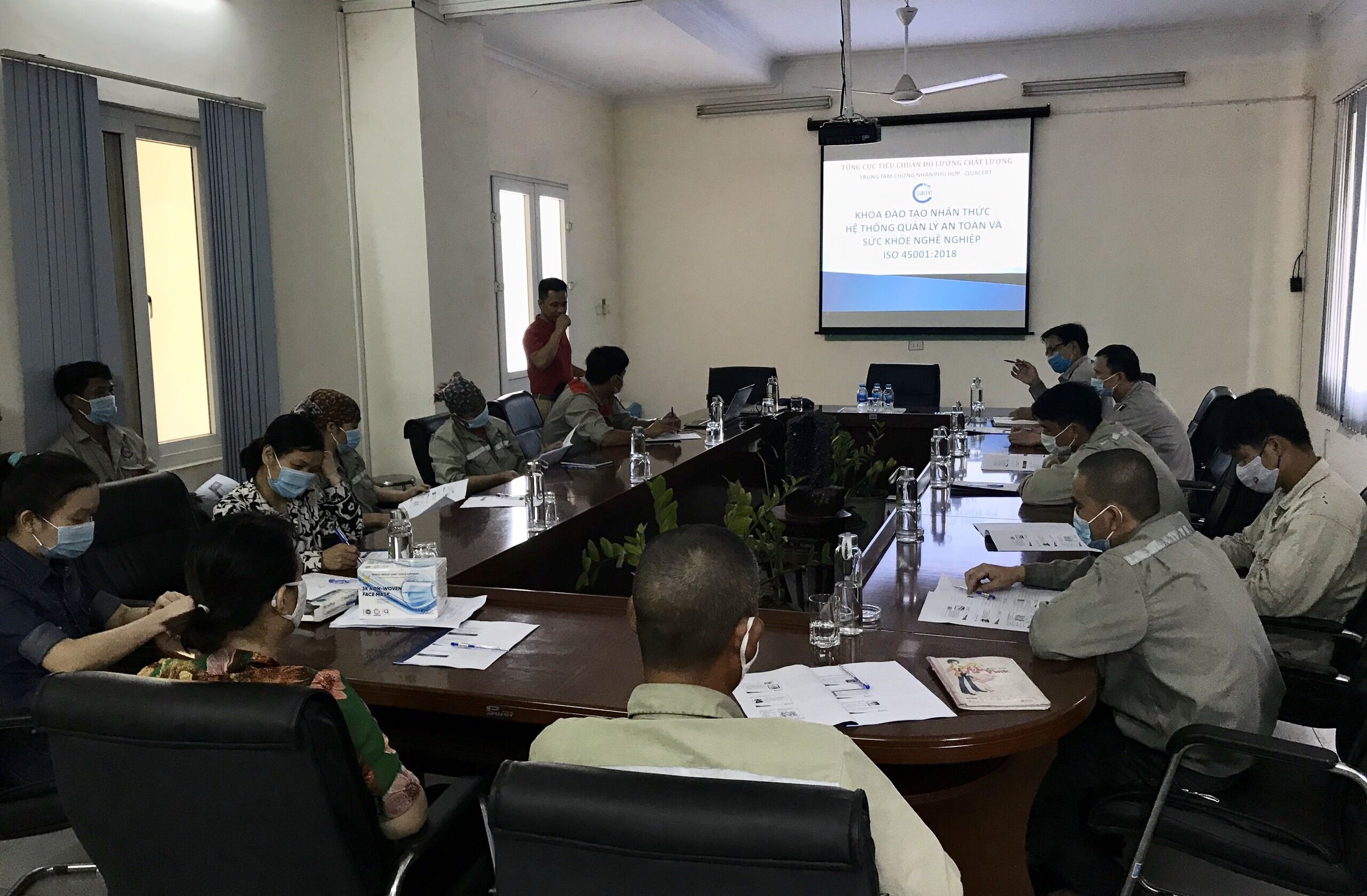 NHQ TRAINS GENERAL AWARENESS OF ISO 45001: 2018